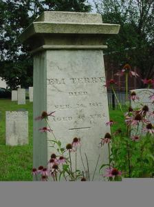 Eli Terry gravestone