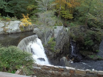 The dam at Greystone Falls powered a sawmill, a grist mill, and a clock factory.