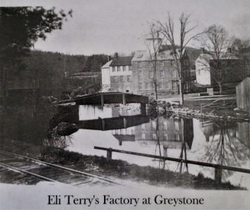 Eli Terry Clock Factory Greystone Falls