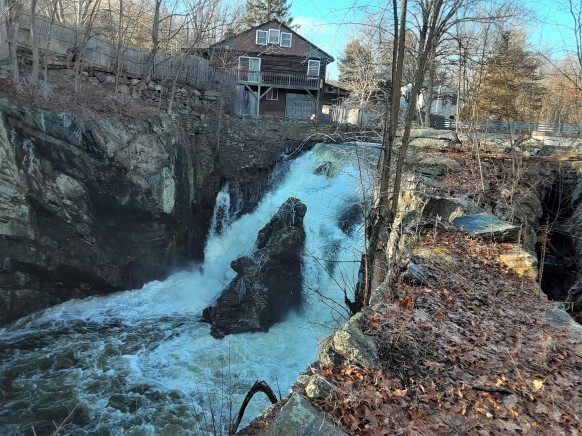 Greystone Falls high water