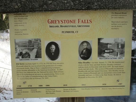 Greystone Falls sign
